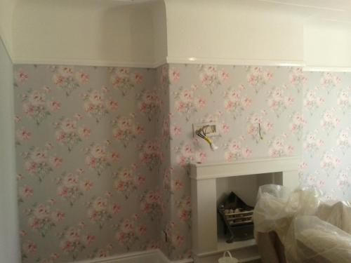 Wallpaper installation 2