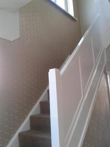 Wallpapered and glossed