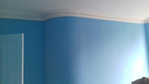 Large bedroom painted 3