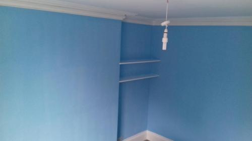 Large bedroom painted 2