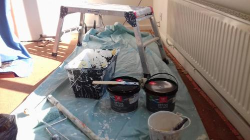 Tikkurila Optiva on the job